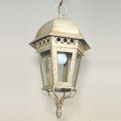 Lanterne ancienne fer forgé