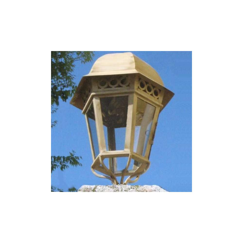 eclairage lanterne ancienne pour pilier ou sol ext rieur. Black Bedroom Furniture Sets. Home Design Ideas