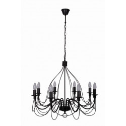Suspension lustre moderne ou baroque lustre pampilles for Lustre ou suspension