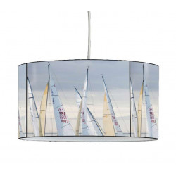 Luminaire plisson bateau
