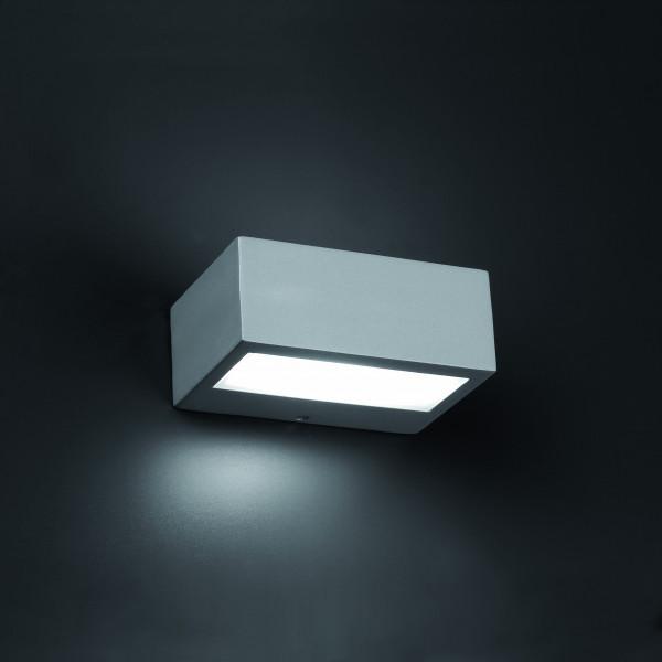 applique ext rieur design grise ou noire luminaire faro. Black Bedroom Furniture Sets. Home Design Ideas