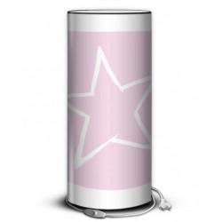 Lampe rose étoile