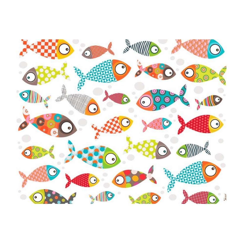 Lampe dessin poissons rigolos - Dessin enfant poisson ...