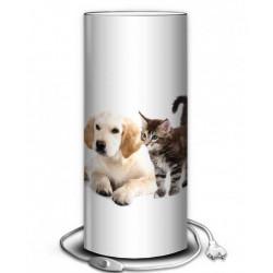 Lampe chien et chat