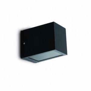 Applique extérieur cube noire Faro