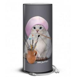 Lampe chat drole