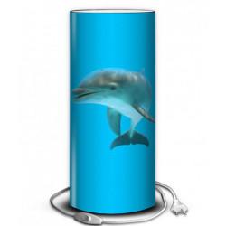Lampe bleue dauphin