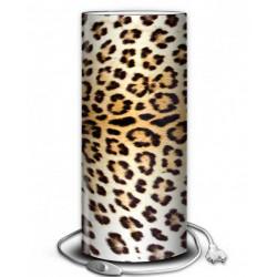 Lampe peau léopard