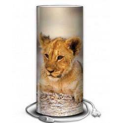 Lampe bébé lion