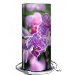 Lampe orchidée mauve