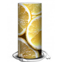 Lampe fruit citron