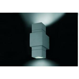 Applique extérieur design avec double diffuseur Faro