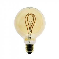 Ampoule globe Edison vintage dimmable LED 5W 9.5cm