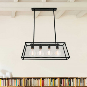 Suspension rectangulaire loft
