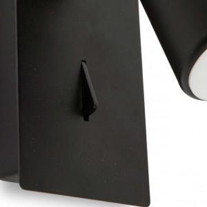 spot LED design avec interrupteur