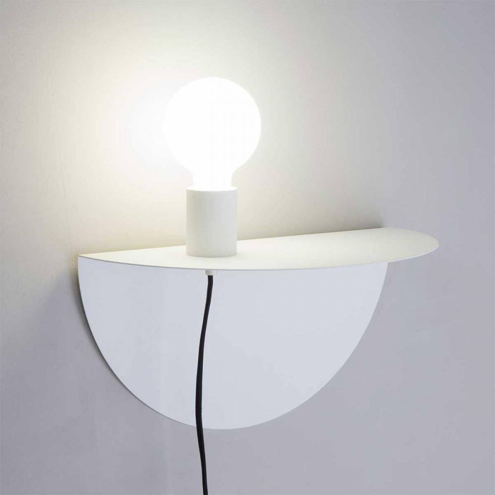 Chevet Applique Table En Métal De Blanc jARL543q