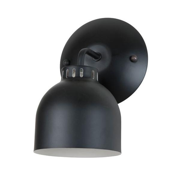 Applique Murale Spot : applique murale noir mat applique luminaire design ~ Teatrodelosmanantiales.com Idées de Décoration