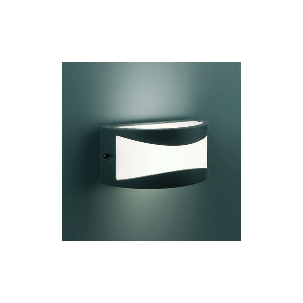 Applique ext rieur gris fonc design applique luminaire faro for Applique exterieur design