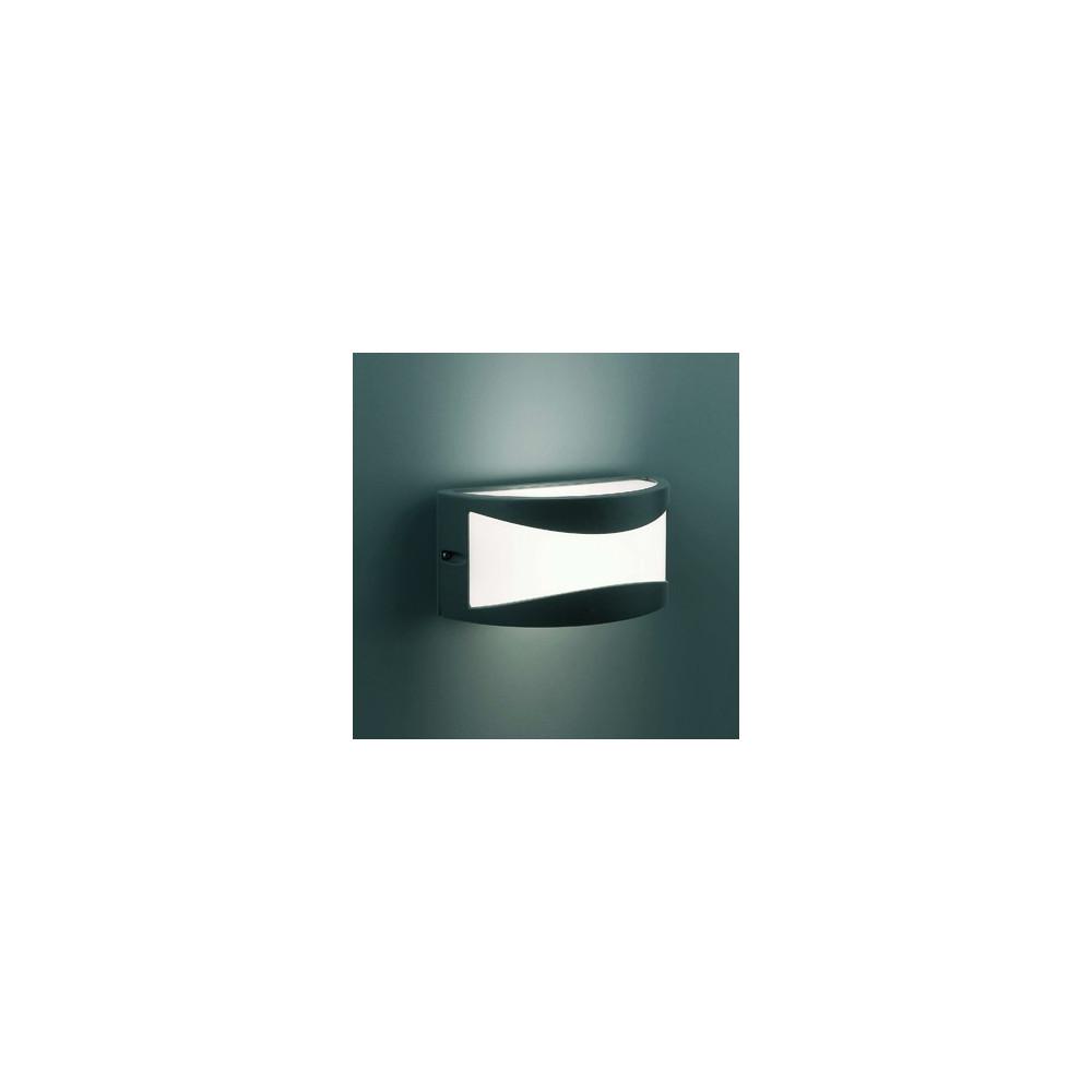 Applique ext rieur gris fonc design applique luminaire faro for Applique eclairage exterieur