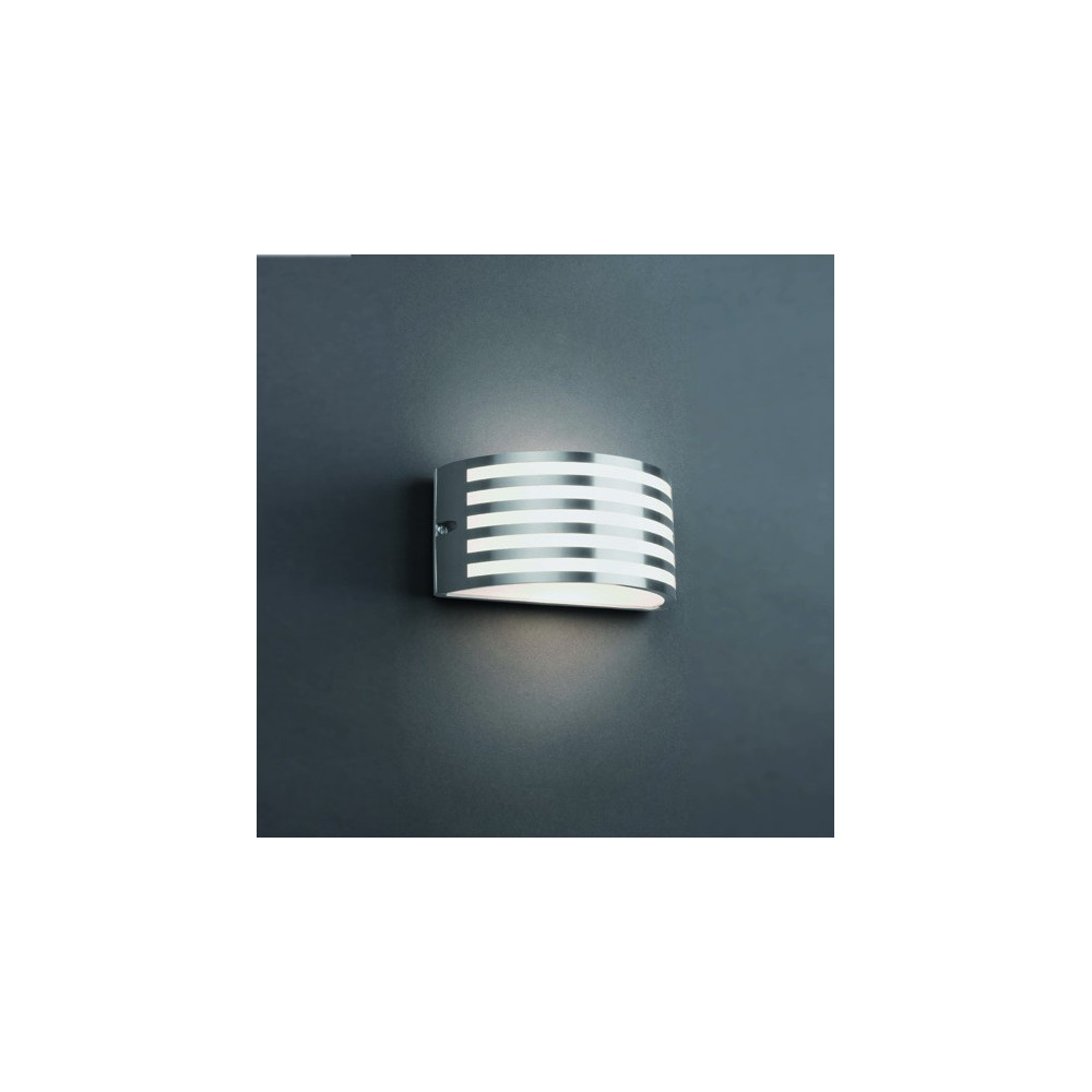 Stunning lampe de jardin en inox contemporary design for Appliques led exterieur