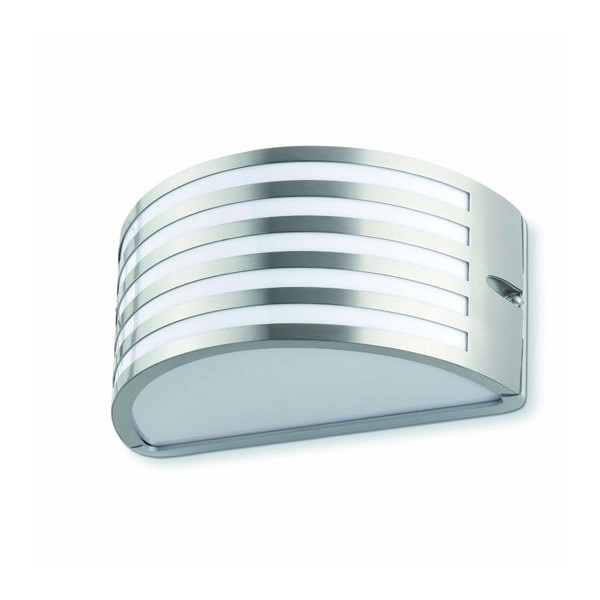 Applique ext rieur design nickel mat ou noir luminaire - Lampade a muro per esterno ...