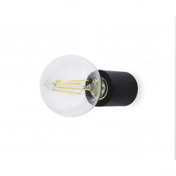 lampe applique noire mate