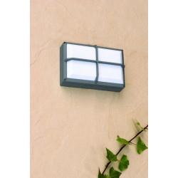Applique extérieur rectangle gris clair ou foncé