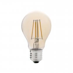 ampoule standard filament led ambre e27 5w 2200k dimable