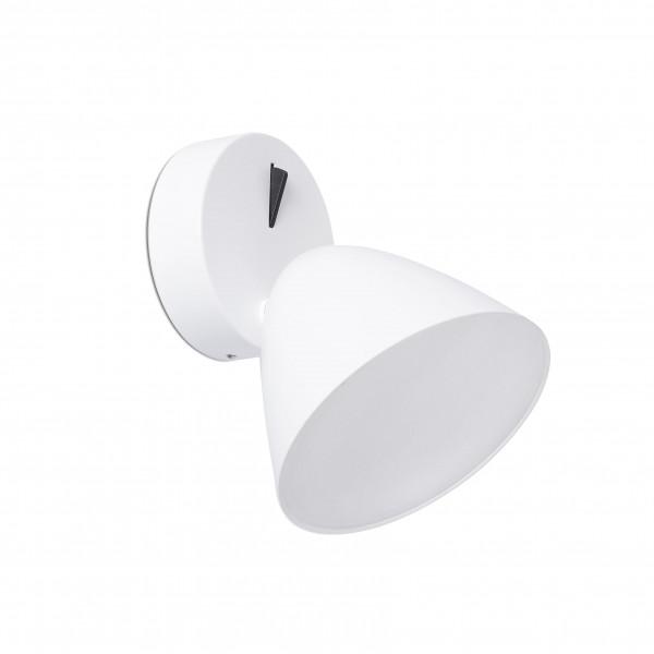 Applique �l�gante blanche avec interrupteur