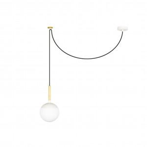 Crochet blanc pour suspension déportée