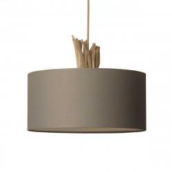 luminaire à suspendre en bois flotté