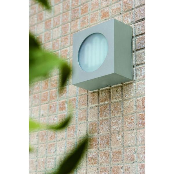 Applique Cube Grise Ext Rieur Luminaire Faro