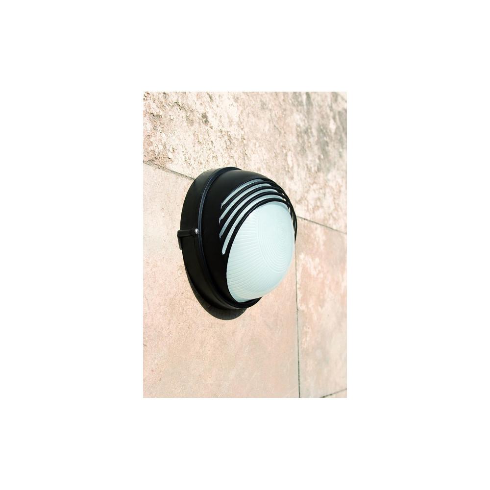 Applique ext rieur noire luminaire faro for Lampe applique exterieur