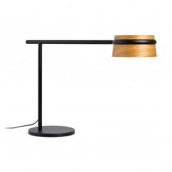 Lampe abat-jour bois LED 3 intensit�s
