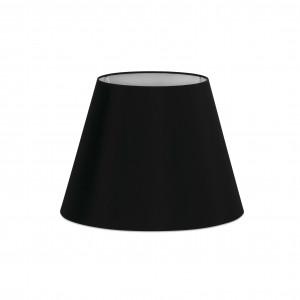 abat jour e27 270 200 160 noire. Black Bedroom Furniture Sets. Home Design Ideas