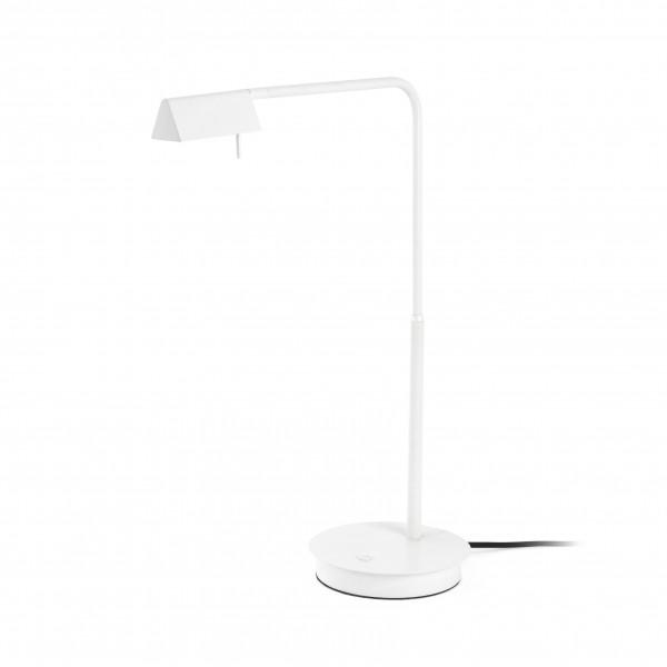 academy lampe de table blanc 4w 3000k dimmable tou. Black Bedroom Furniture Sets. Home Design Ideas