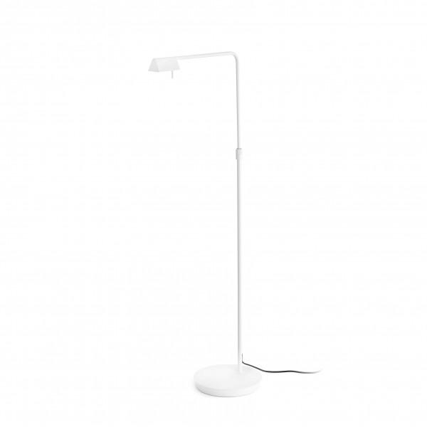 Lampadaire blanc moderne avec 3 intensit�s