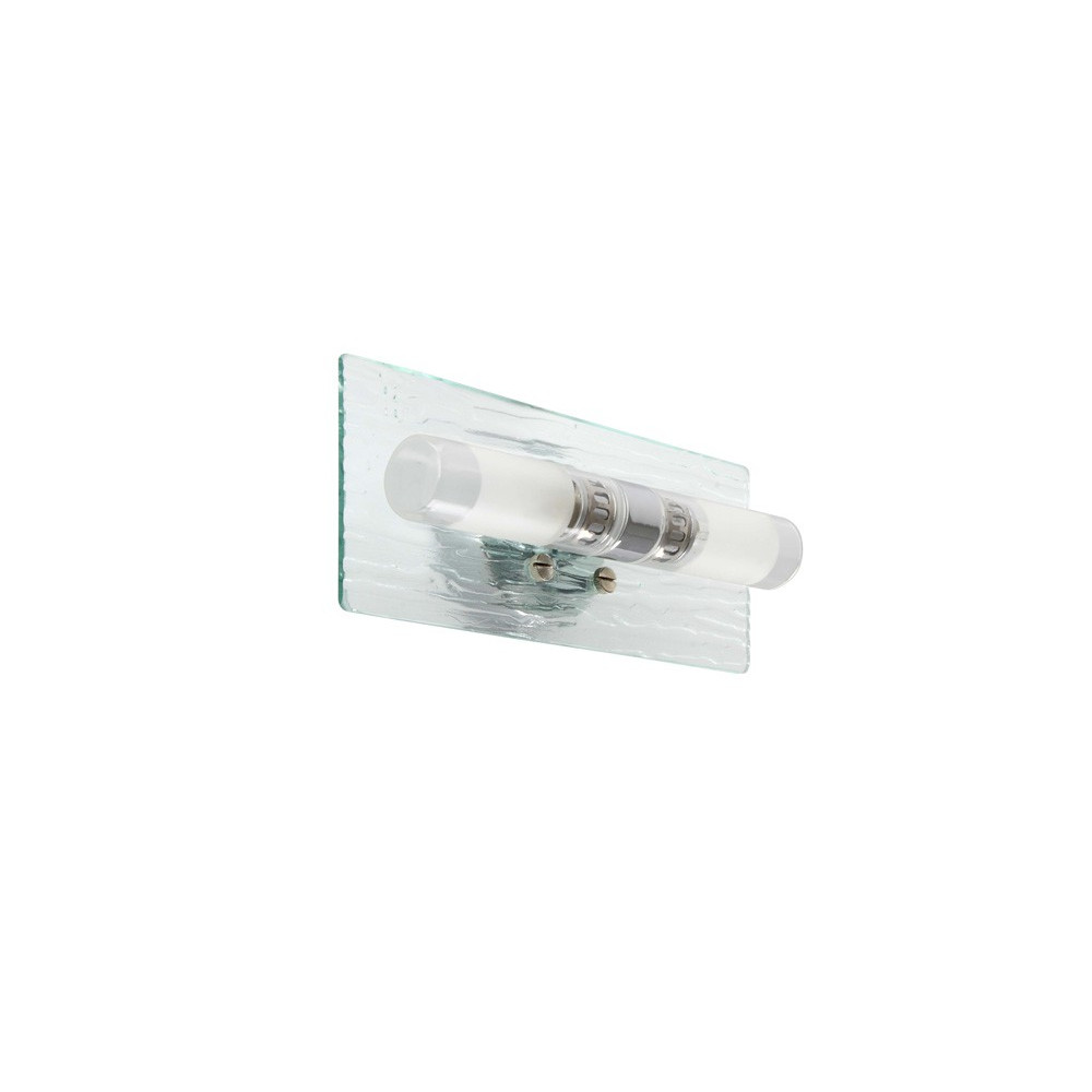 Applique salle de bain avec double cylindre luminaire for Ampoule applique salle de bain