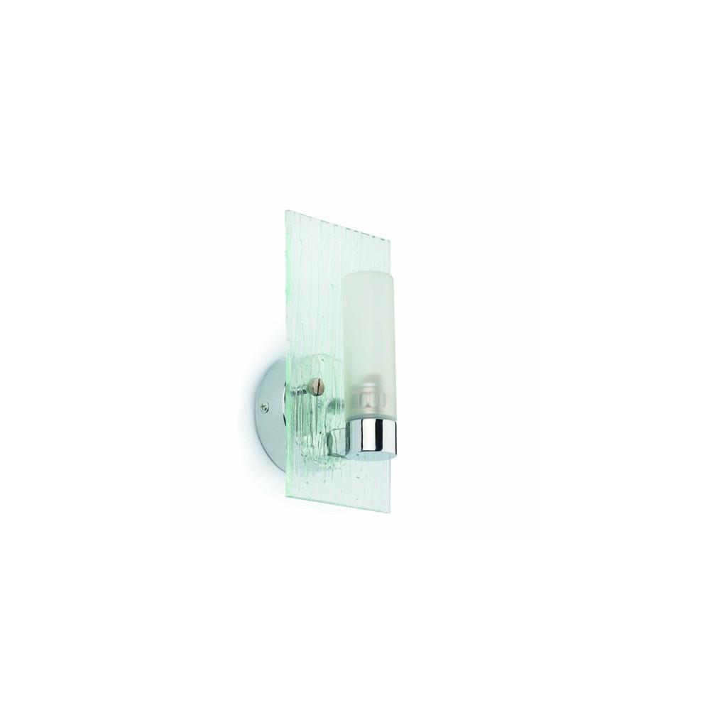 Applique salle de bain avec cylindre luminaire lampe avenue - Applique double sallede bain ...