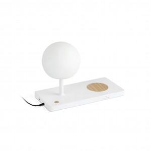 Lampe avec chargeur de portable