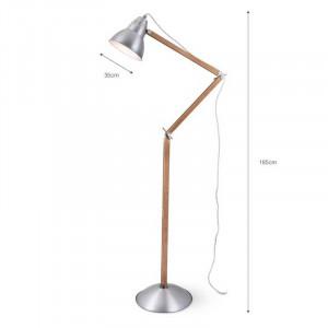 Lampadaire articulé design
