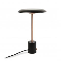Lampe noire et cuivre LED avec variateur de lumi�re
