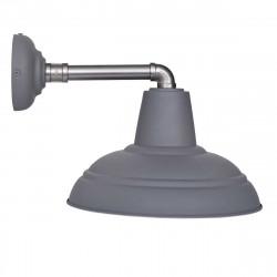 Applique extérieur grise industrielle