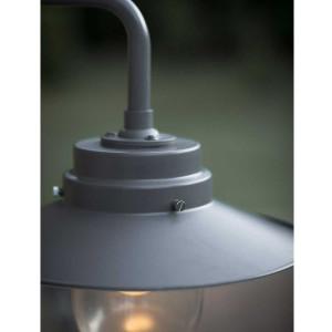 Applique extérieure métal et verre