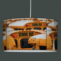 Suspension abat-jour school bus