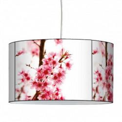 Suspension abat-jour fleurs de cerisier