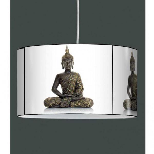 Suspension abat-jour bouddha