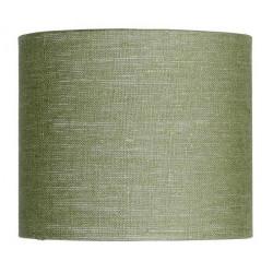 Abat-jour en lin vert kaki