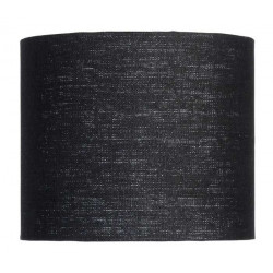 Abat-jour en lin noir