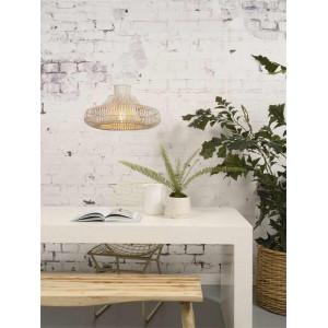 lampe suspension bambou